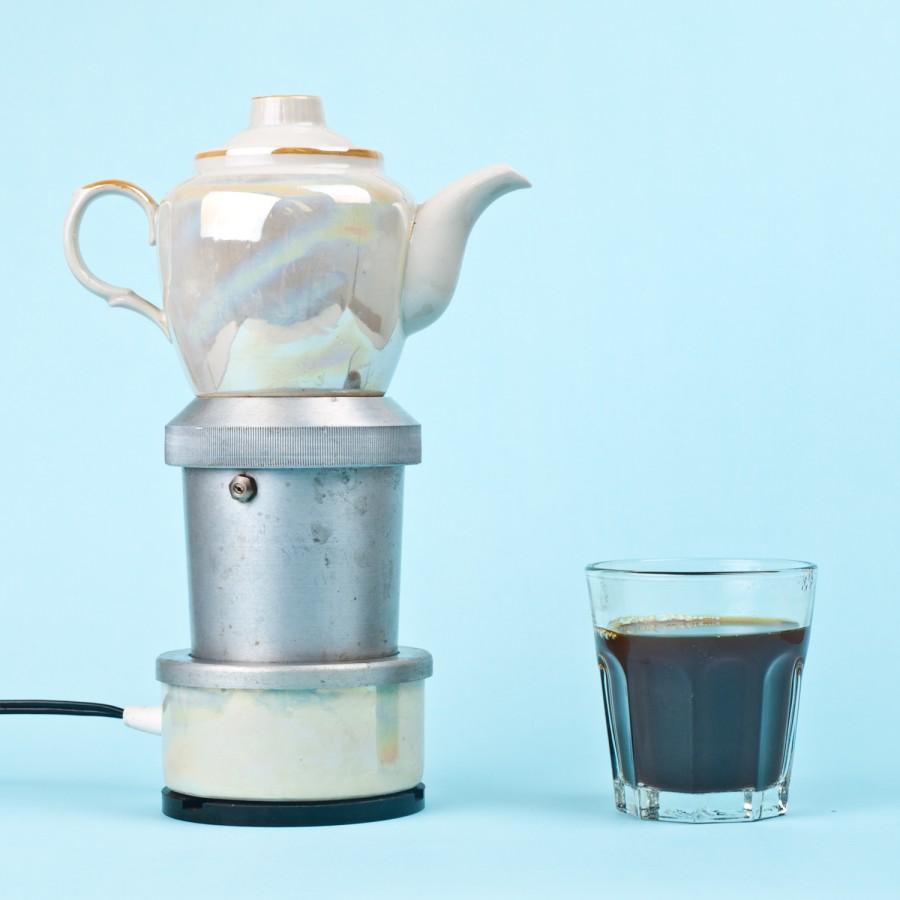 Stiklinis espresso kavinukas